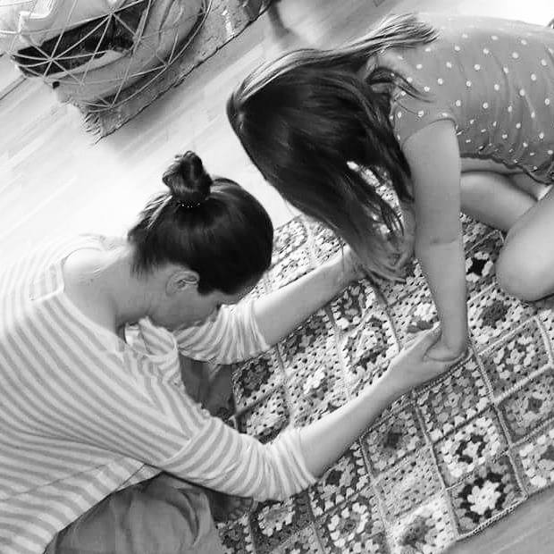 Yoga med Lillesøster